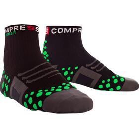 Compressport ProRacing Run High Socks black/green